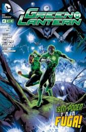 Green Lantern (Linterna Verde) -8- ¡Sin Poder Y A La Fuga!