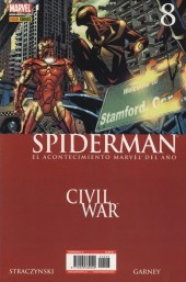 Asombroso Spiderman -8- Civil War