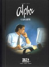 Alpha (Renard/Mythic/Jigounov) (Le Figaro) -4- La liste