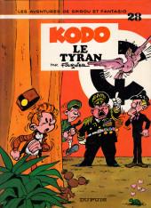 Spirou et Fantasio -28a84- Kodo le tyran