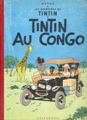 Tintin (Historique) -2B24- Tintin au congo