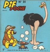 Pif Poche -51- Pif Poche n°51