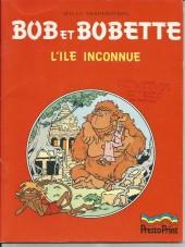 Bob et Bobette (Publicitaire) -Pr1- L'île inconnue