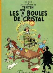 Tintin (Historique) -13B33- Les sept boules de cristal