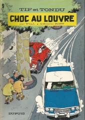 Tif et Tondu -9a78- Choc au louvre