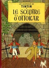 Tintin (Historique) -8B33- Le Sceptre d'ottokar