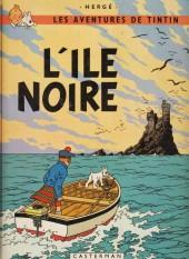 Tintin (Historique) -7C1- L'Ile Noire