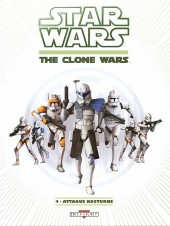 Star Wars - The Clone Wars (2e série) -4- Attaque nocturne (an -22)
