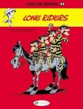 Lucky Luke (en anglais) -7542- Lone riders