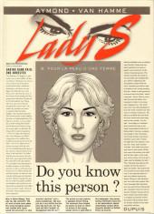 Lady S. -9- Pour la peau d'une femme