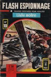 Flash espionnage (1re série) -10- Liste noire