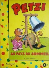 Petzi (Première série) -4- Petzi au pays du sommeil