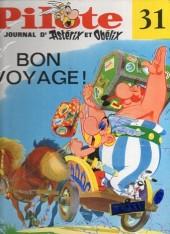 (Recueil) Pilote (Album du journal - Édition française cartonnée) -31- Reliure n°31