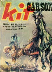 Kit Carson -Rec57- Collection reliée N°57 (du n°415 au n°418)