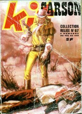 Kit Carson -Rec67- Collection reliée N°67 (du n°455 au n°458)