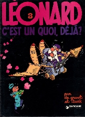 Léonard -3- Leonard, c'est un quoi déjà ?