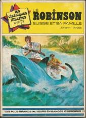 Les classiques illustrés (2e Série) -12- Le Robinson suisse et sa famille