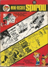 (Recueil) Spirou (mini-recueil) -11- Mini-recueil Spirou 11
