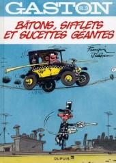 Gaston (Sélection) -3- Bâtons, sifflets et sucettes géantes