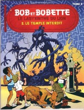 Bob et Bobette (Publicitaire) -Univ3- Le labyrinthe du lion - Le temple interdit