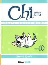 Chi - Une vie de chat (format manga) -10- Tome 10