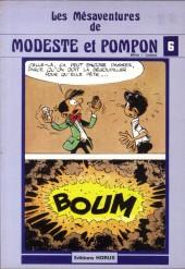 Modeste et Pompon (Mittéï/Godard) -6- les mésaventures de Modeste et Pompon 6
