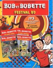 Bob et Bobette (Spécial vacances) - Festival BD