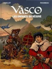 Vasco -25- Les enfants du vésuve