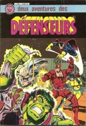 Les défenseurs (1re série - Arédit - Artima Color Marvel Super Star) -Rec01- Album N°1 (n°2 et n°3)