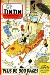 (Recueil) Tintin (Album du journal - Édition belge) -25- Tome 25