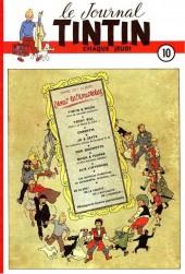 (Recueil) Tintin (Album du journal - Édition belge) -10- Tome 10