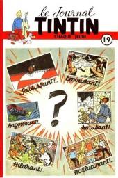 (Recueil) Tintin (Album du journal - Édition belge) -19- Tome 19