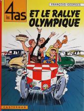 Les 4 as -8- Les 4 as et le rallye olympique