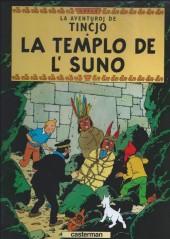 Tintin (en langues étrangères) -14Espéranto- La templo de l'suno
