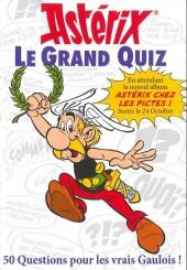 Astérix (Livre-Jeux) -6- Astérix - Le Grand Quiz