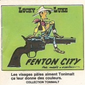 Lucky Luke (Publicité Tonimalt) -3- Fenton City