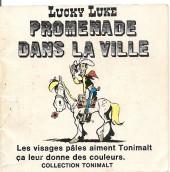 Lucky Luke (Publicité Tonimalt) -6- Promenade dans la ville