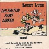 Lucky Luke (Publicité Tonimalt) -8- Les Dalton sont libres