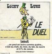 Lucky Luke (Publicité Tonimalt) -11- Le duel
