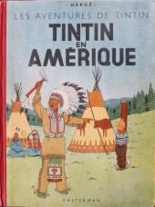 Tintin (Historique) -3B01'- Tintin en amérique