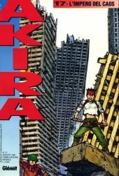 Akira (en italien) -17- L'impero del caos