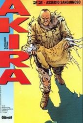 Akira (en italien) -22- Assedio sanguinoso