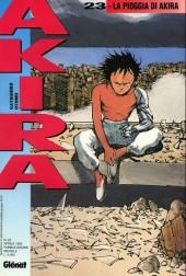 Akira (en italien) -23- La pioggia di akira