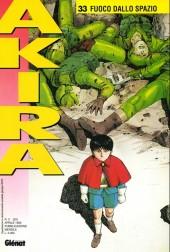 Akira (en italien) -33- Fuoco dallo spazio