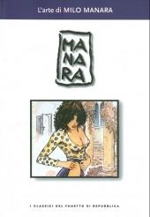 Classici del fumetto di Repubblica (I) -21- L'arte di Milo Manara