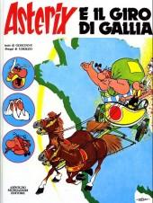 Astérix (en italien) -5- Asterix e il giro di gallia