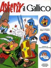 Astérix (en italien) -1- Astérix il gallico