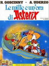 Astérix (en italien) -28- Le mille e un'ora di asterix