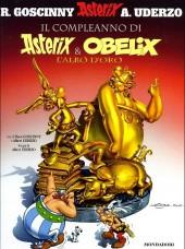 Astérix (en italien) -34- Il compleanno di asterix e obelix -L'albo d'oro