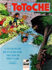 Totoche -12- Le fils du voleur
